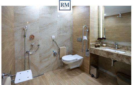 Salle de bain resort Medical Sousse