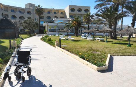 L'entrée de Resort Medical Sousse